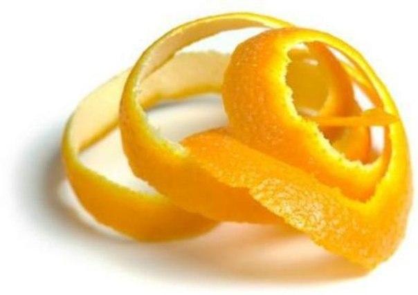 лимонная корочка для украшения клюквенного лимонада