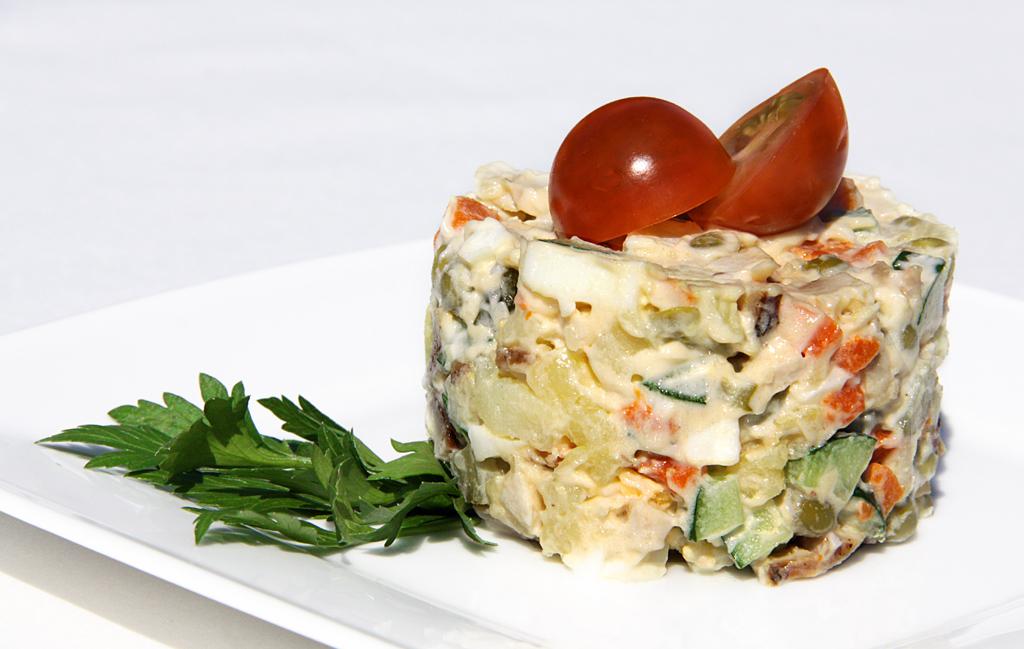 соус для оливье из йогурта рецепт