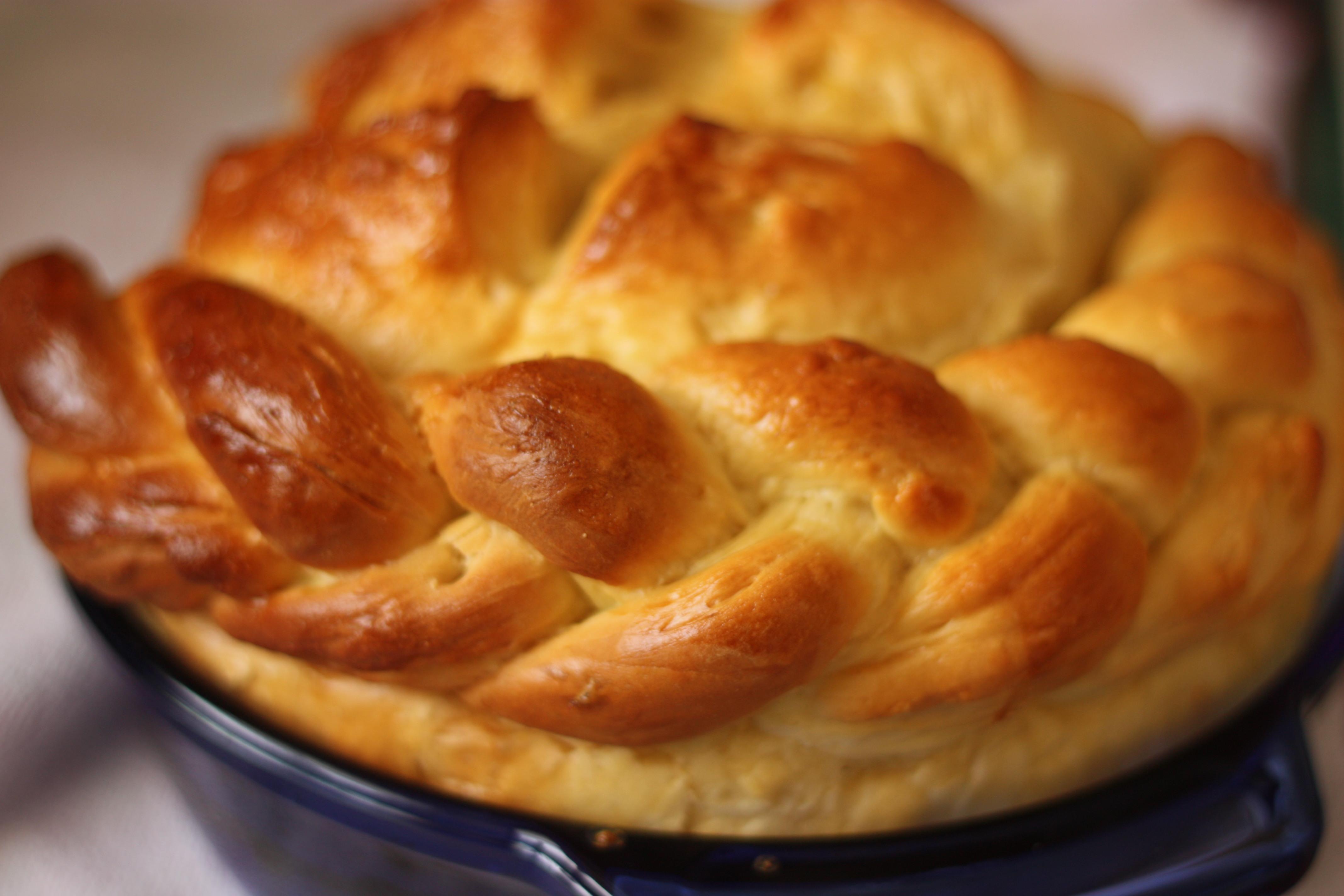 паска - традиционный украинский пасхальный хлеб