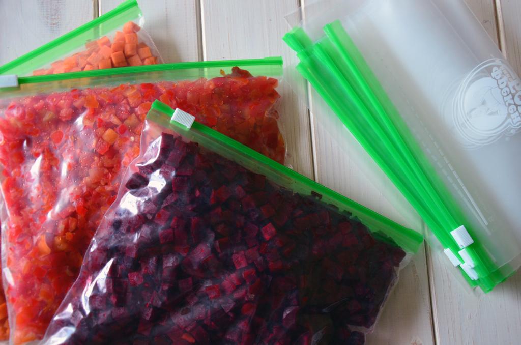 Заготовки на зиму в полиэтиленовых пакетах