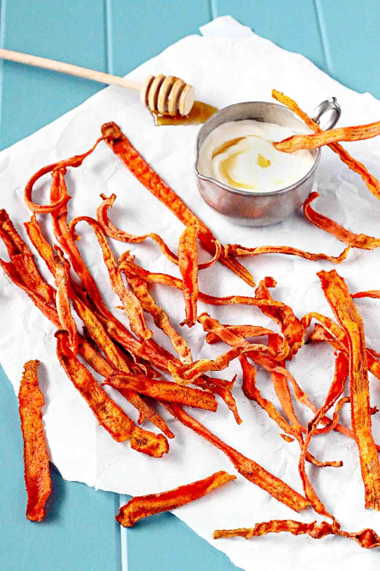 Чипсы из моркови