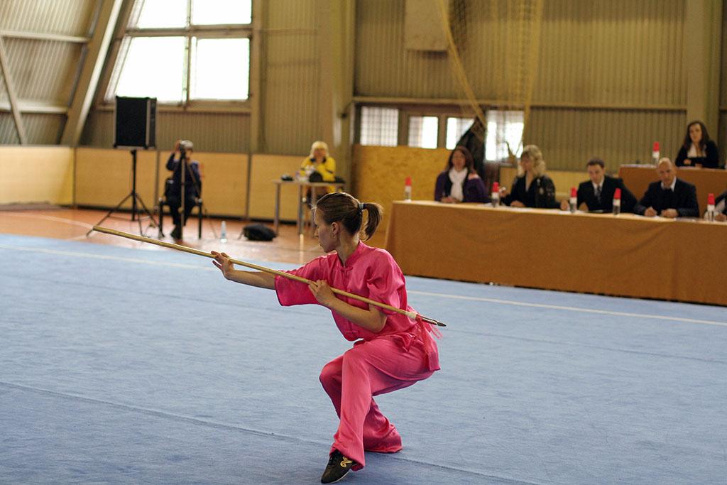 ушу: Анна Варламова, детский тренер