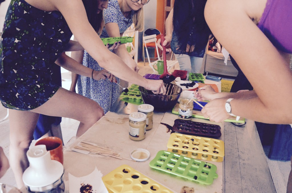 мастер класс по приготовлению полезных сладостей: добавляем начинку