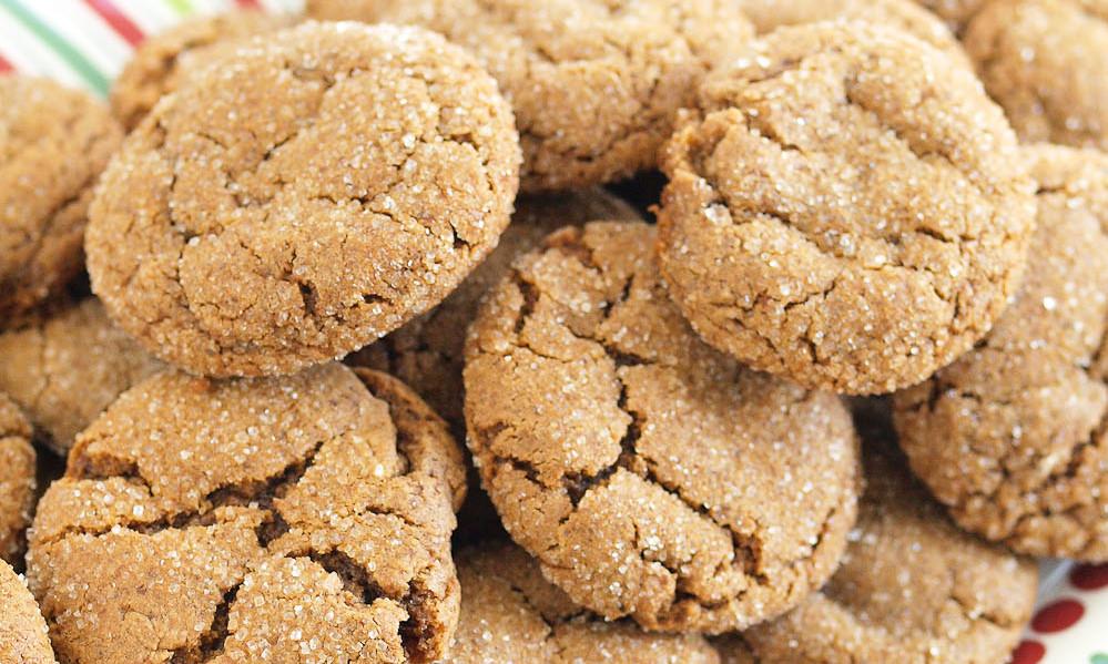 пряное печенье без сахара
