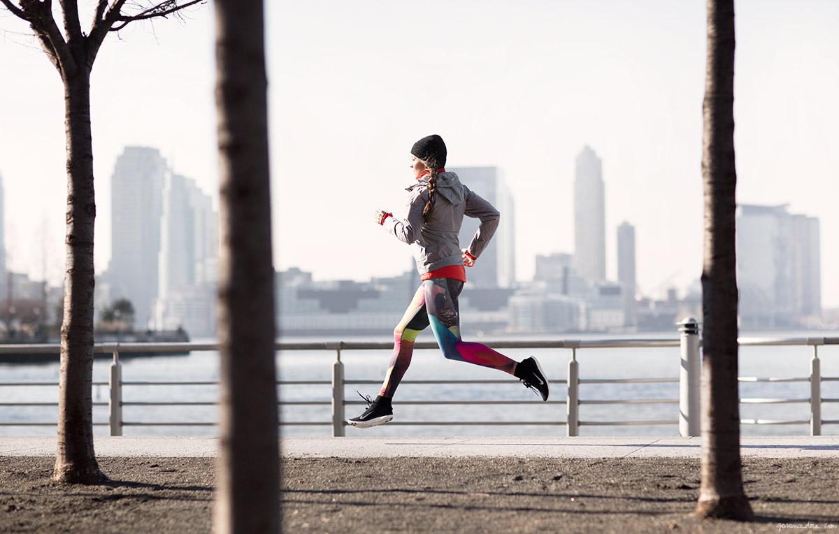 тренировки на улице: пробежка
