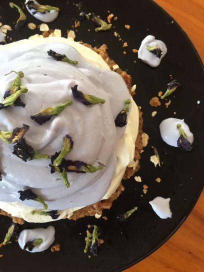 торт с желе на агаре