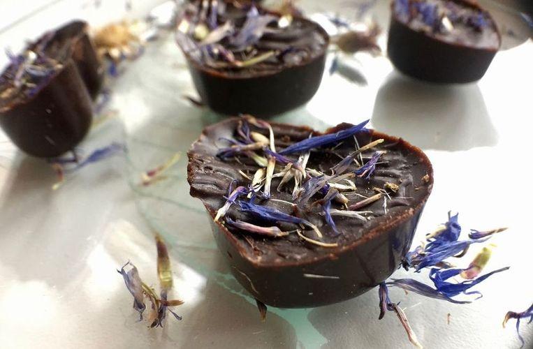 Шоколадные конфеты из кэроба