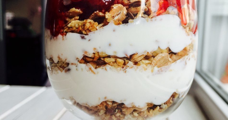 десерты без сахара: завтрак в бокале