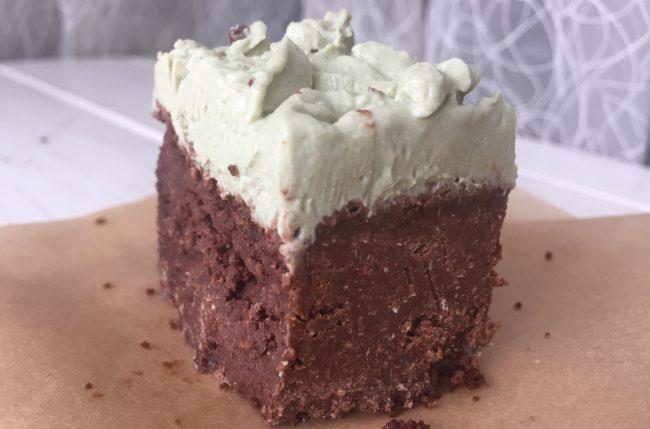 рецепт шоколадного кекса или брауни без сахара