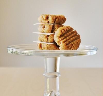 арахисовые печенья без выпечки