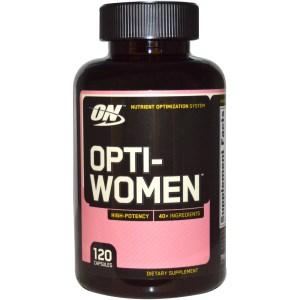 opti women от optimum nutrition