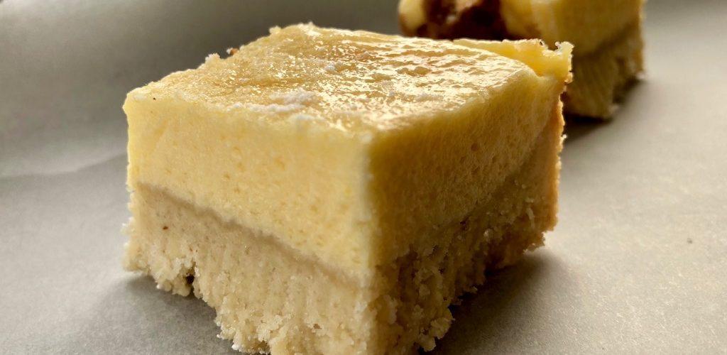 лимонные пирожные без сахара и глютена