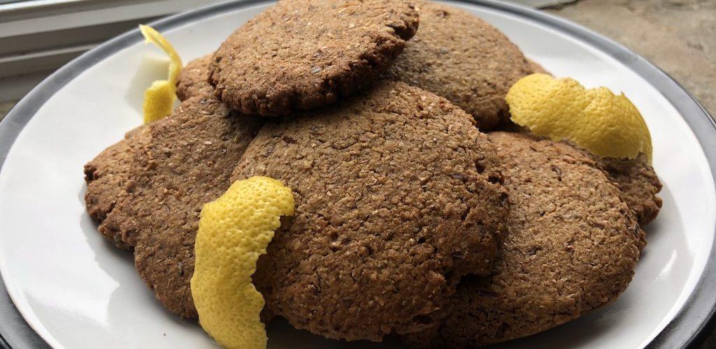 лимонное печенье на кокосовом сахаре